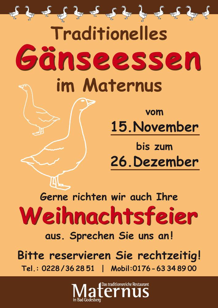 Restaurant Maternus Bad Godesberg Startseite